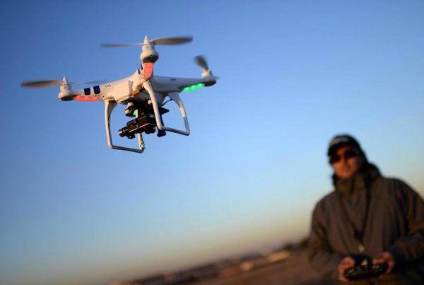 Vigilancia con Drones